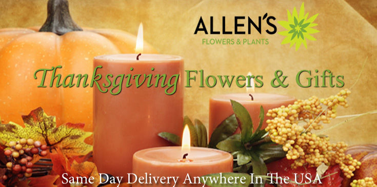Thanksgiving Flowers & Gifts from Allen's Flowers & Plants.