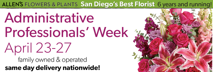Administrative Professionals Week April 23-27