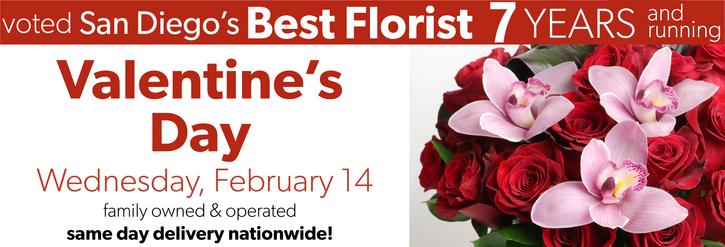 Valentine's Floral Arrangements